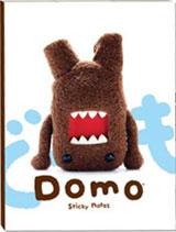 Domo-Kun Sticky Notes Stationary Book
