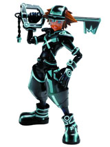 Kingdom Hearts 3D Play Arts Kai Sora Tron Version Action Figure