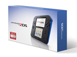 Nintendo 2DS System Electric Blue