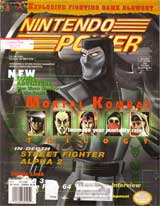 Nintendo Power Magazine Volume 89: Mortal Kombat Trilogy