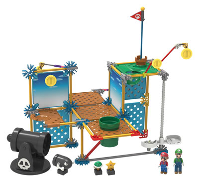K'NEX Super Mario 3D Land Cannon Building Set
