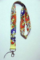 Sonic the Hedgehog: Main Characters Lanyard