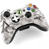 Xbox 360 Arctic Camouflage Wireless Controller Microsoft