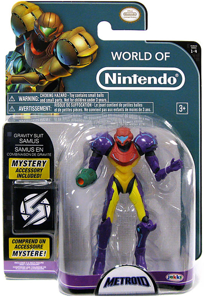 4in. Samus Gravity Suit with Power Ball Action Figure
