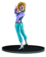 Dragon Ball Super Sculpture Big Budokai Android 18 7 Inch Figure