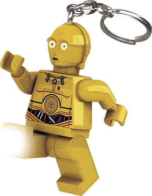 LEGO Star Wars C-3PO LED Keychain