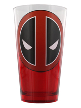 Marvel Deadpool Logo Pint Glass