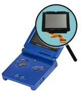 Game Boy Advance SP Repairs: LCD Screen Replacement Service