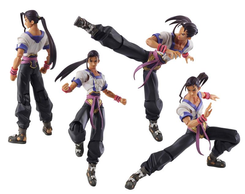 Xenogears: Bring Arts Fei Fong Wong Action Figure
