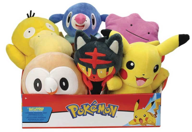 Pokemon Select Plushes full view