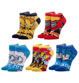 Mega Man Ankle Socks 5 Pack