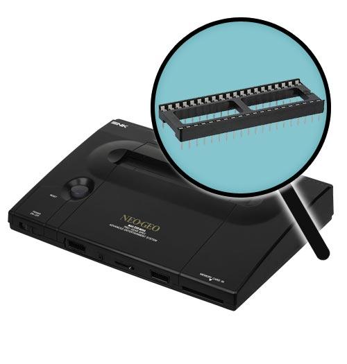 Neo Geo AES Bios Socket Installation Service