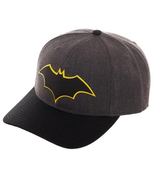 DC Comics Batman Rebirth Pre-Curved Bill Snapback