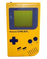 Nintendo Game Boy System Yellow