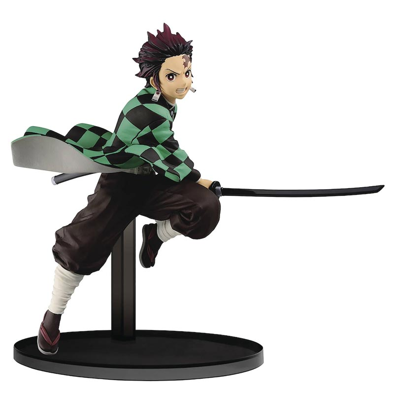 Demon Slayer Vibration Stars Tanjiro Kamado Figure full img