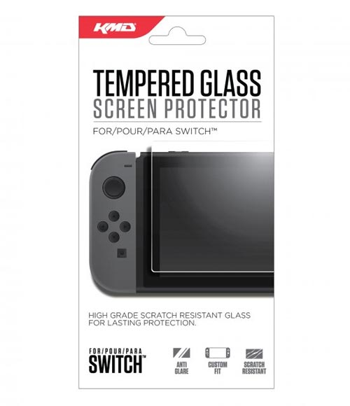 Nintendo Switch Tempered Glass Screen Protector by KMD
