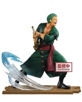 One Piece Log File Selection Fight V1 Roronoa Zoro DXF Figure