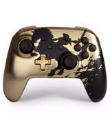 Nintendo Switch Wireless Controller Legend of Zelda Gold Silhouette
