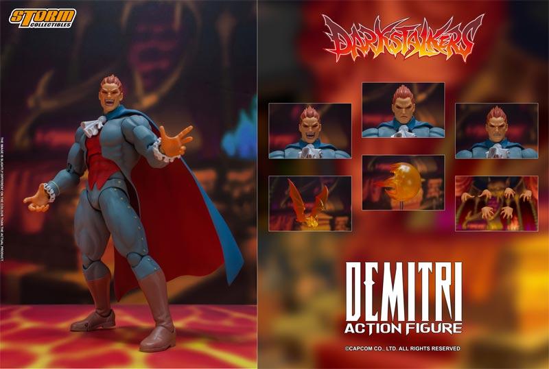 Darkstalkers Demitri Storn Collectibles AF extra img