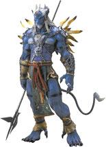 Final Fantasy X Kimahri Figure