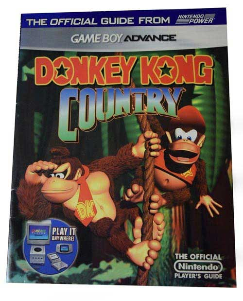 Donkey Kong Country Official Nintendo Player's Guide