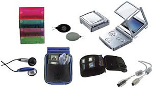 Game Boy Advance SP Starter Kit by Pelican