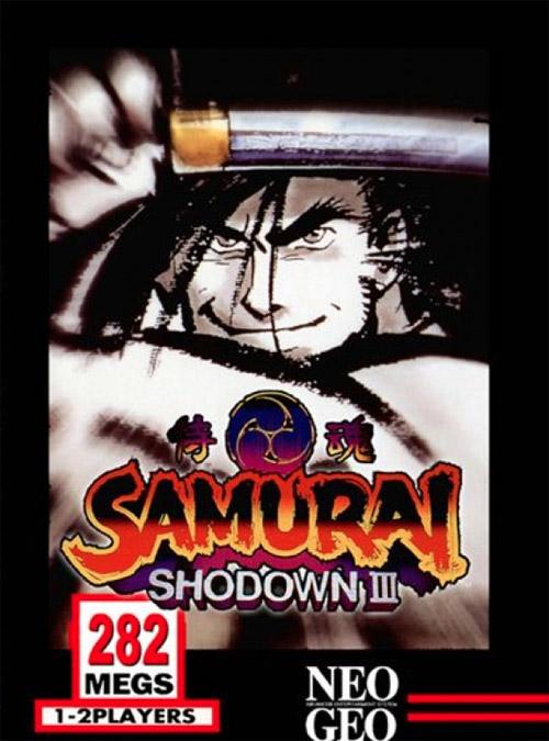 Samurai Shodown III: Blades of Blood Neo Geo AES