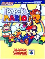 Paper Mario Nintendo Power Official Nintendo Player's Guide