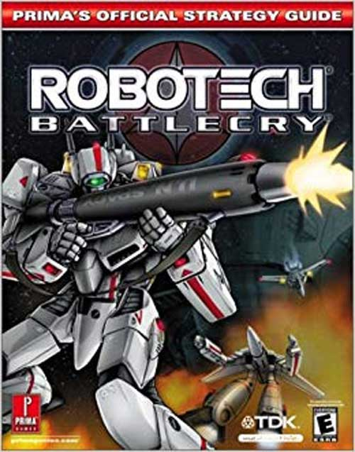 Robotech Battlecry Official Strategy Guide Book