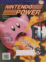 Nintendo Power Magazine Volume 72 Kirby's Dreamland 2