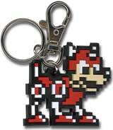 Mega Man 10 Rush Keychain