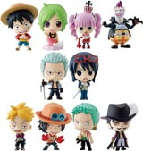 One Piece Ocean Blue Deformeister Petit Mini-Figures