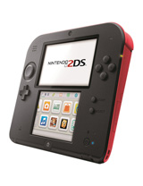 Nintendo 2DS System Crimson Red