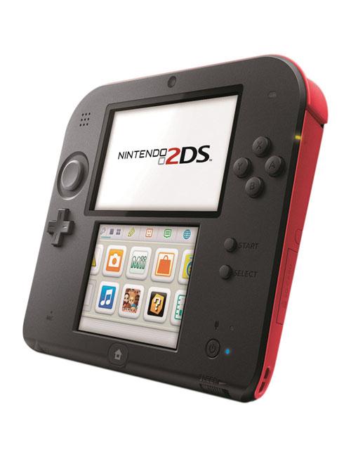 Nintendo 2DS System Crimson Red