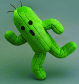 Final Fantasy Series Cactuar 10 Inch Plush