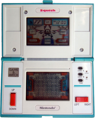 Game & Watch Multi-Screen Series: Squish