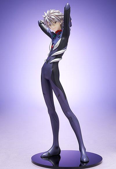 Evangelion 3.0 Kaworu Nagisa 1/8 Scale 8 Inch PVC Figure