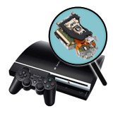 PlayStation 3 Repairs: Laser Pickup Replacement Service