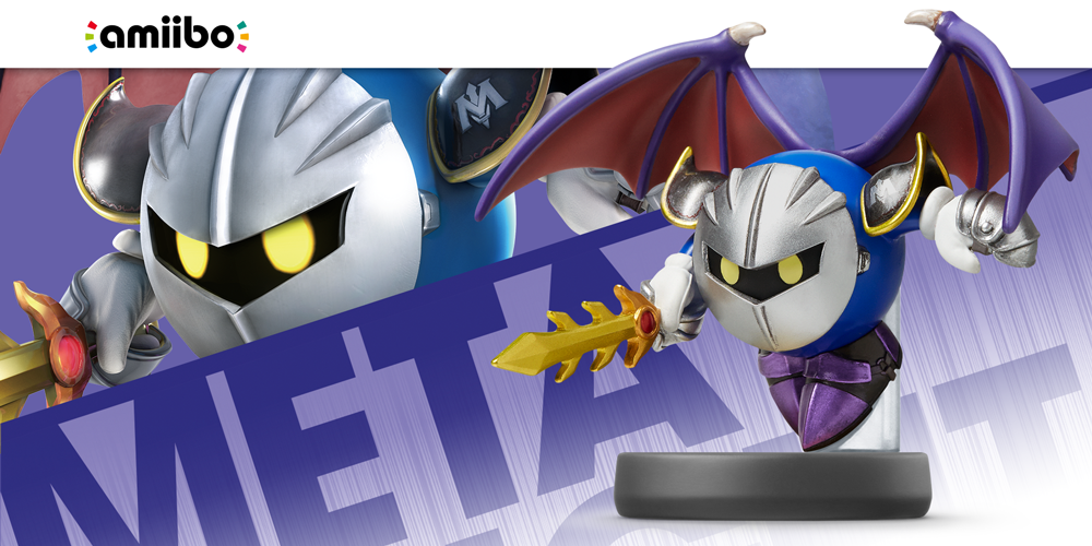 amiibo Meta Knght Super Smash Bros.