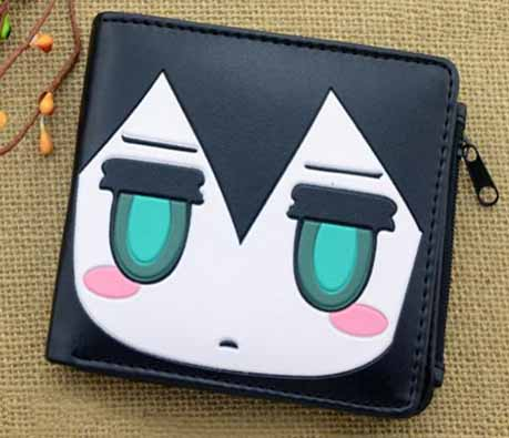 Black Rock Shooter Black Wallet
