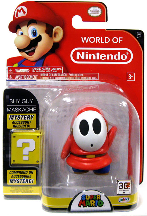 World of Nintendo 4 Inch Action Figure Series Shy Guy