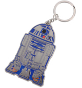 Star Wars R2-D2 Metal Keychain