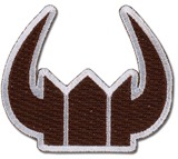 Black Rock Shooter Black Gold Saw Icon Patch