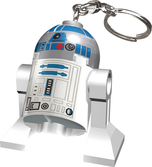 LEGO Star Wars R2-D2 LED Keychain