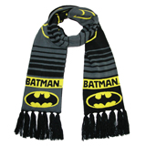Batman Logo Jacquard Knit Scarf