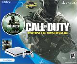 Sony PlayStation 4 Slim Call of Duty: Infinite Warfare White System Bundle