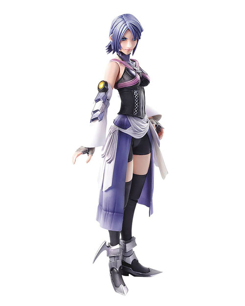 Kingdom Hearts Birth by Sleep Play Arts Kai Aqua Action Figure