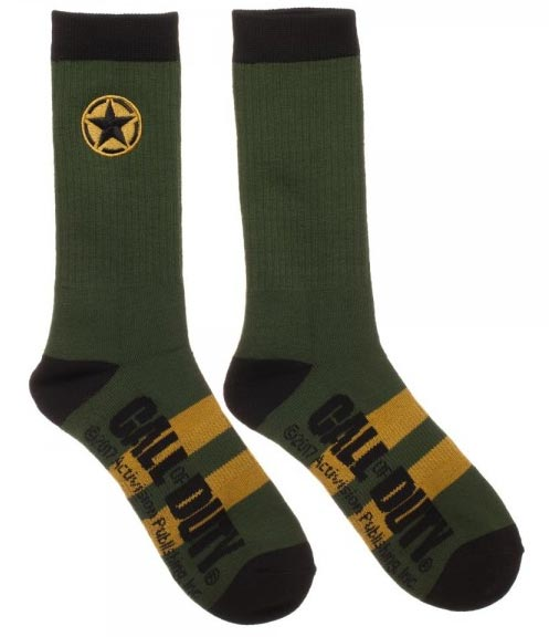 images from Call of Duty WWII Crew Socks