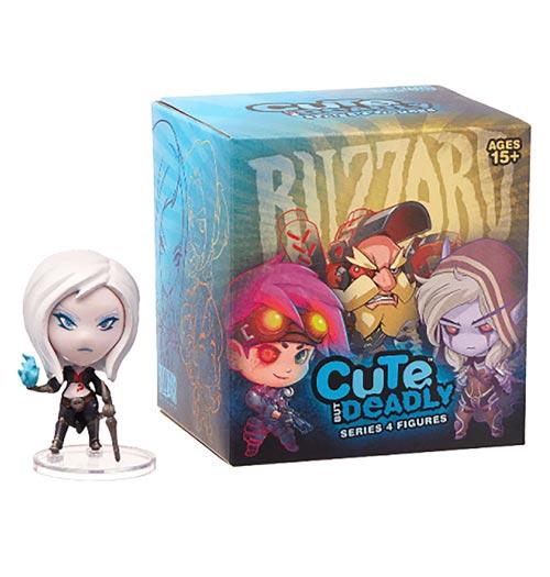 Blizzard Cute But Deadly Series 4 Vinyl Figures