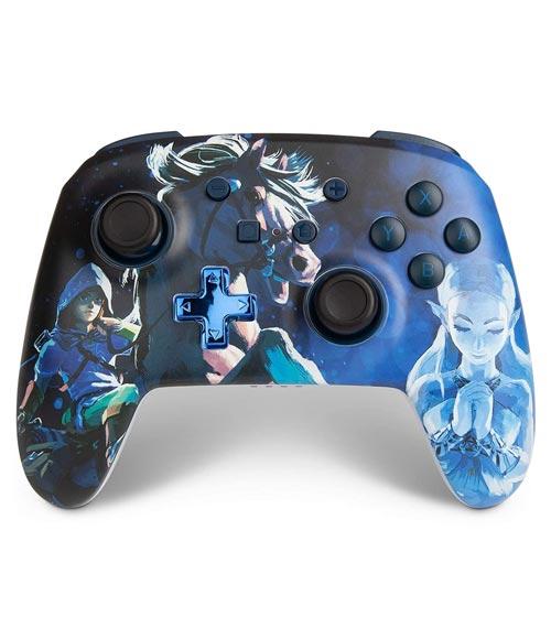 Nintendo Switch Wireless Controller Legend of Zelda Link Blue